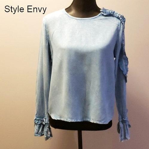 Blouse bleue Style Envy médium
