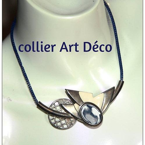 Collier vintage art déco