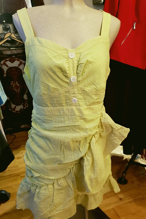 robe vert lime large Endless Rose,  neuve dress