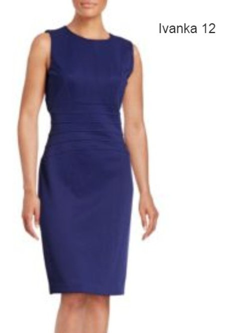 robe bleue Ivanka Trump 12 ans blue dress