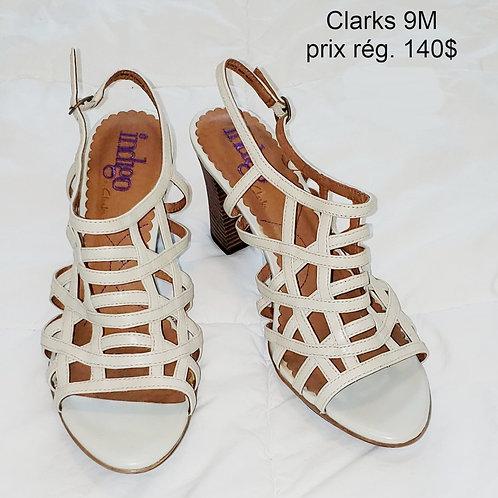 Sandales crème Clarks 9