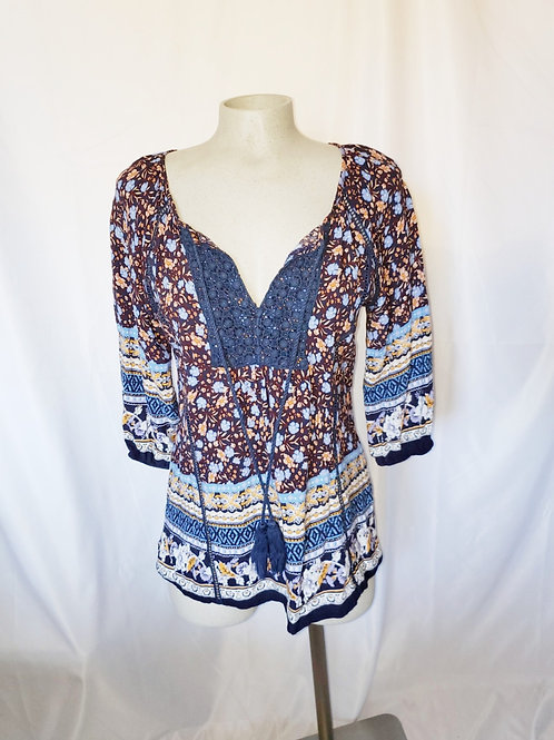 blouse boho Solitaire small
