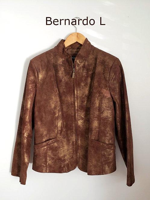jacket manteau cuir Bernardo xl