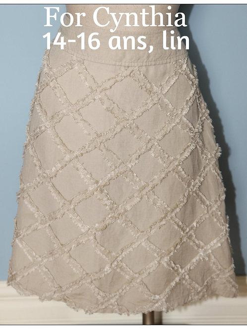 Jupe For Cynthia Large en lin linen skirt