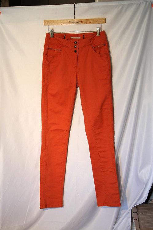 skinny Jeans orange 8 ans Elora