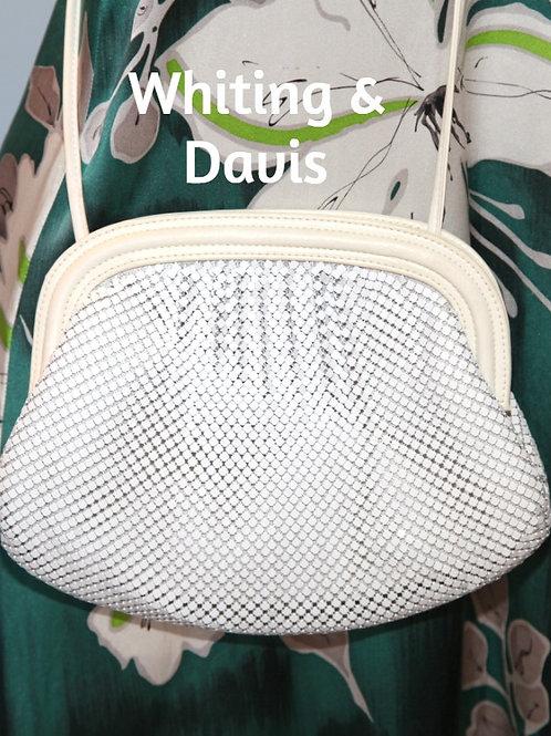 sac designer Whiting & Davis vintage bag