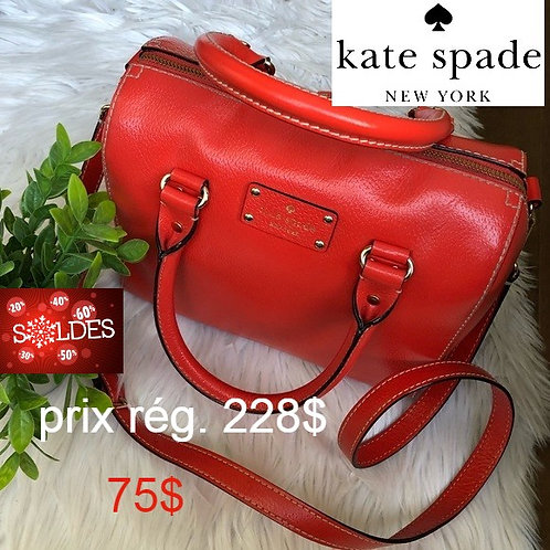 sacoche Kate Spade rouge