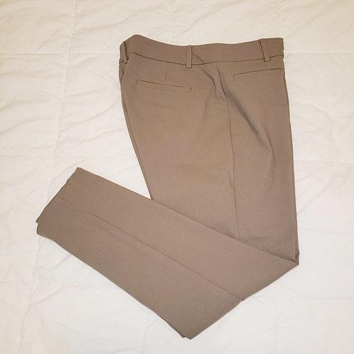 pantalons beige taupe 12 ans Large Van Heusen