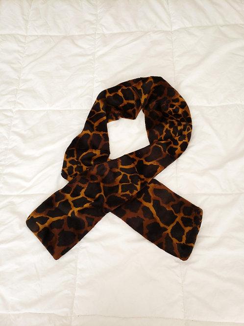 foulard imprimé animal hiver