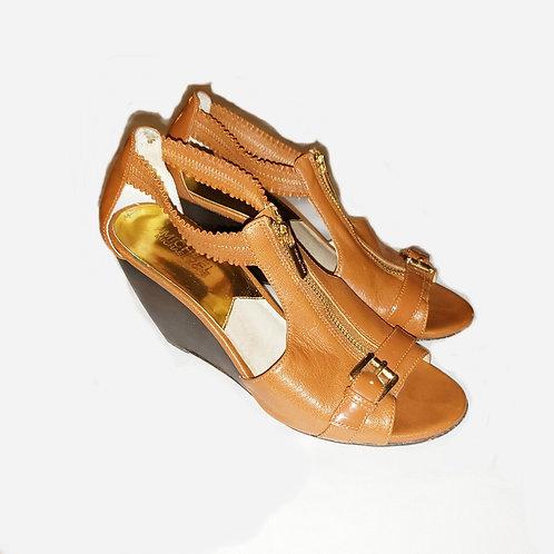 sandales tan cognac Michael Kors 8