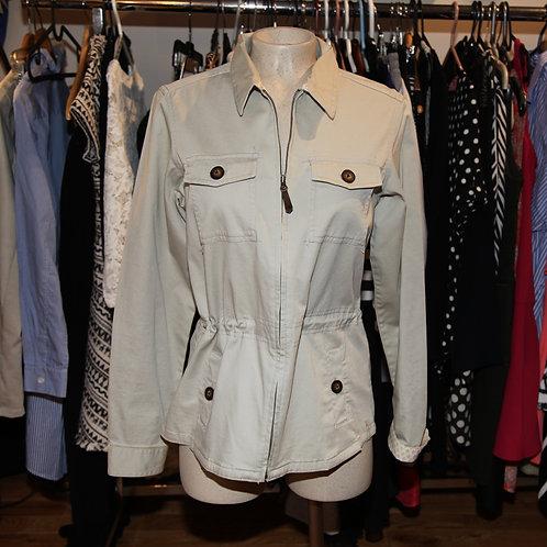 veste anorak beige Columbia small beige vest jacket