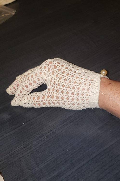 gants vintage crochet Small