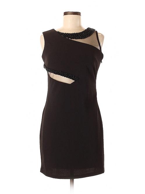 robe noire Ina medium black dress