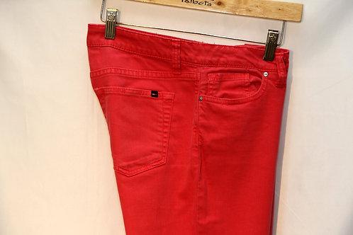 Jeans rouge Tommy Hilfiger 6 ans