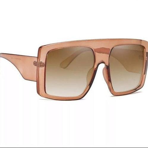 lunettes de soleil mode rose pâle