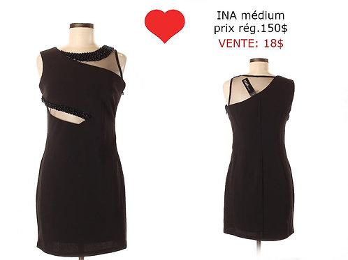 robe noire Ina médium