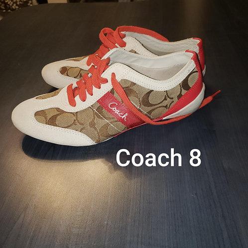 souliers sneakers Coach 8