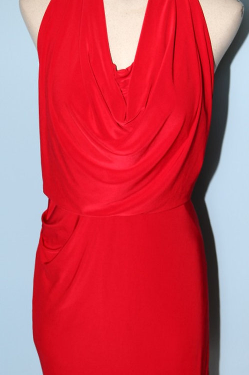 Robe rouge Suzy Shier large dress