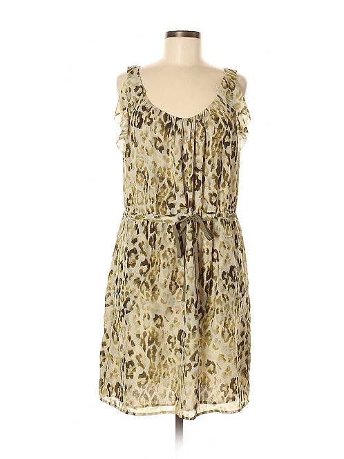 robe motifs vert 12-14 ans large Ann Taylor dress