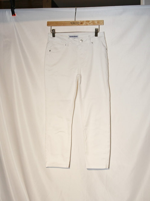 Jeans jeggings blanc Nygard 6 ans