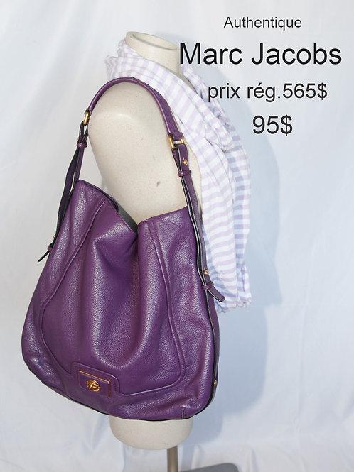 sac sacoche violet Marc Jacobs