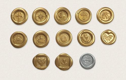 Wax Seals (set of 10)