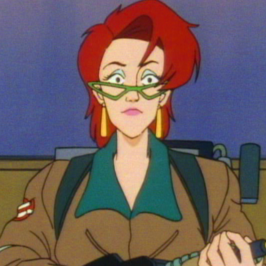 Janine - The Real Ghostbusters