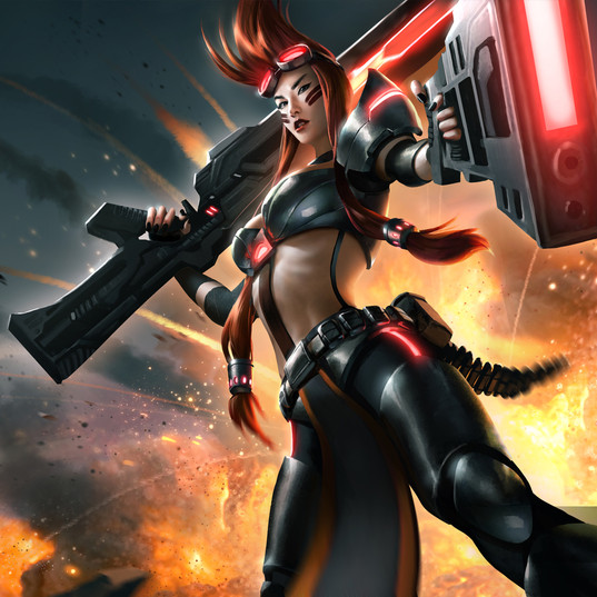 Mistress Of Arms - heroes Of Newerth