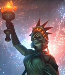 Lady Liberty Nox - Smite