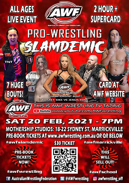 AWF 20 Feb Marrickville Poster QR Code.j
