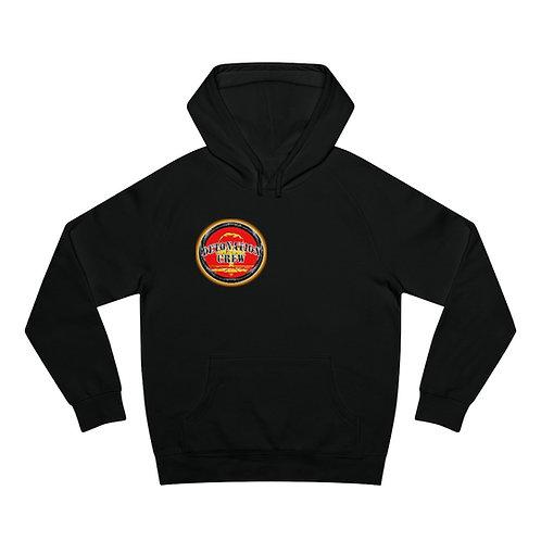 Detonation Crew Logo Hoodie (Small Logo Front, Big Logo Back)