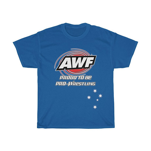 AWF Proud To Be Pro-Wrestling T-Shirt