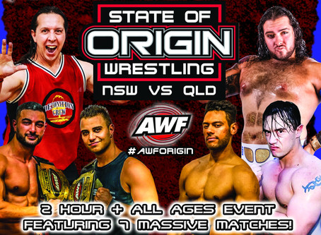 AWF State of Origin NSW 2019 Available now at AWF Pivotshare for $9.99 AU