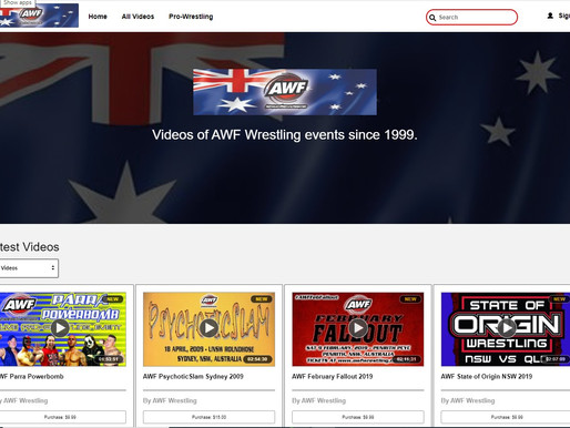Follow AWF from 2019 to 2020 on AWF Pivotshare Videos