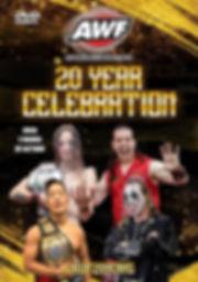AWF 20 Year Celebration DVD Cover Web.jp
