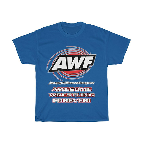 AWF Logo - Awesome Wrestling Forever T-Shirt