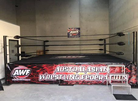 AWF School of Pro-Wrestling is Open! Come and join a session this week with head trainer TNT!