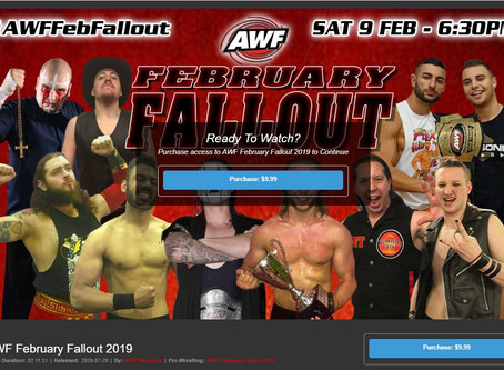 AWF February Fallout 2019 Available now at AWF Pivotshare for $9.99 AU