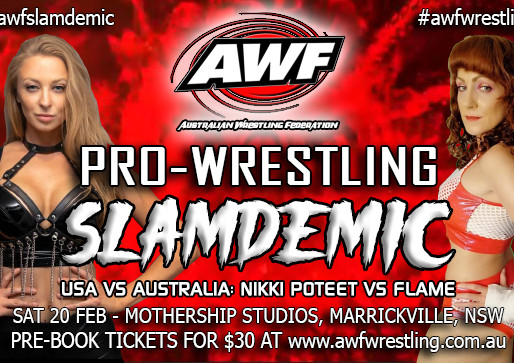 AWF Women's Action Set for this Saturday as Nikki Poteet takes on Flame at AWF Pro-Wrestling Slamdem