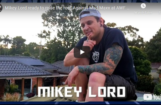 Mikey Lord ready to raise the roof Against Mad Maxx at AWF Pro-Wrestling Reset