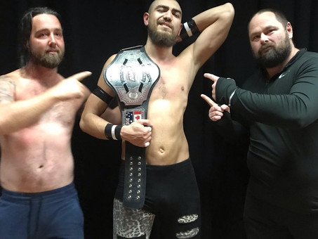 New AWF Commonwealth Champion Crowned at Smackdown in Blacktown - Mad Maxx Ramirez!