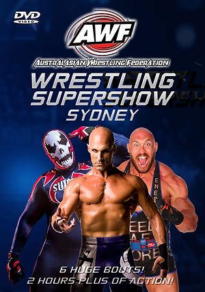 AWF Supershow Sydney DVD cover.jpg