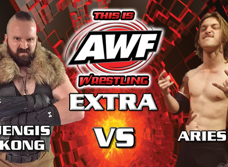 This Is AWF Wrestling Extra Online Now! Aries Vs Jengis Kong