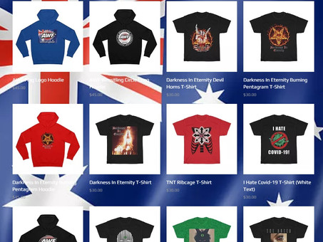 New AWF T-Shirts & Hoodies at AWF Website Shop! Support Today!