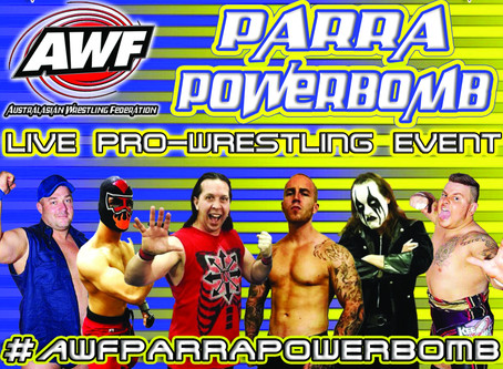 AWF Parra Powerbomb Available Now for $9.99 on AWF Pivotshare