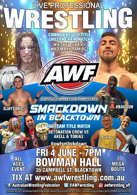AWF Smackdown In Blacktown Poster.jpg