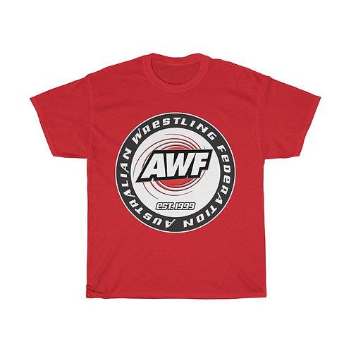 AWF Wrestling Circle Logo Est. 1999 T-Shirt