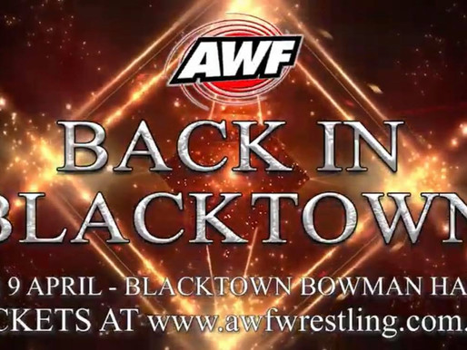 AWF Back In Blacktown 2021 Digital Event Available Now at AWF Pivotshare for $15