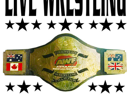 New Date Set for AWF Legacy at Blacktown Bowman Hall: Friday 5 November. Get Tix today AWF Website!