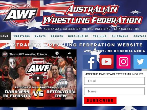 New AWF Wrestling Website is Live! www.awfwrestling.com.au